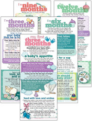 Set of Baby Stages cards