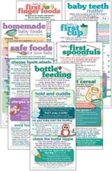Set of Baby Feeding cards