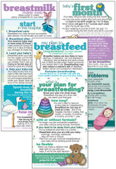 Set of Breastfeeding Cards