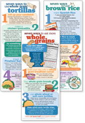 Set of WIC Whole Grain cards