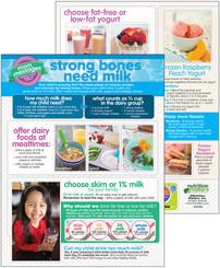 Strong Bones Need Milk