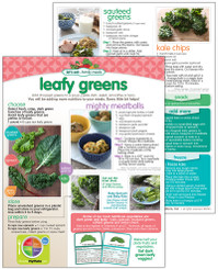 Leafy Greens  - tear sheets