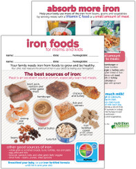 Iron Foods for Moms and Kids