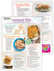 Canned Fish - Cooking Sheet