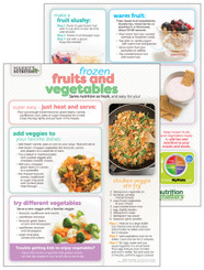 Frozen Fruits & Vegetables - Cooking Sheet