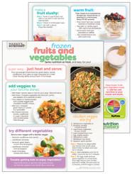 Frozen Fruits & Vegetables - Cooking Sheet