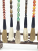 brush and stand, assorted, set of 7
