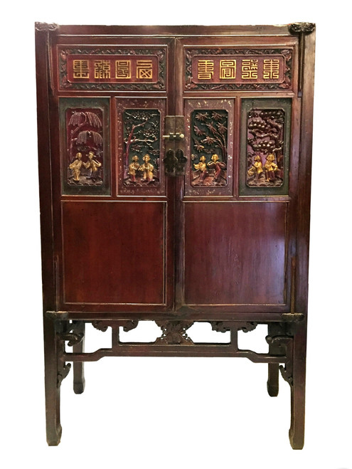 cabinet, mother of pearl, antique