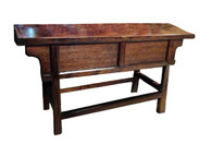 ANTIQUE FRONT SLIDING SINGLE BOARD TABLE