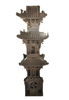18TH CENTURY TERRACOTTA TOWER