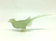 GREEN JADE PEASANT BIRD
