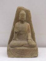 ANTIQUE NO FEAR BUDDHA