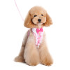 Easy-Go Pink Ruffle Bowtie Harness