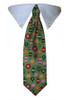 Green Ornaments Tie Collar