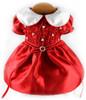Little Scarlet Smock Harness Dress