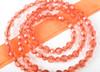 Fabuleash Leash in Tangerine Crystal