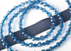 Fabuleash Leash in Montana Blue Crystal