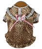 Satin Wild Leopard Nightgown
