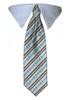 Bones & Stripes Tie Collar