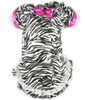 Zebra Print Flannel Nightgown