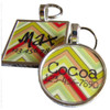 Chevron Stripes Pet ID Tag