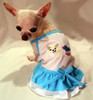 Chihuahua Princess Ruffled Dress