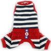Sailor Summer Stripes Pajamas in Blue/Red