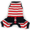 Sailor Summer Striped Pajamas in Red/Blue