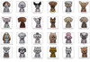 Breed Specific Rhinestone Stickers