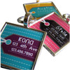 Luggage Tag-Inspired Pet ID Tag