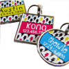 Lightening Bolts Pet ID Tag