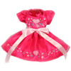 Be My Valentine Hand-Painted Dress in Hot Pink/Pink