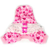 Ruffled Tank Pajamas in Pink Heart Doodles