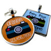 Retro Camera Pet ID Tag