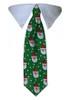 Green Santa Tie Collar