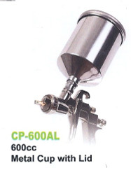 GREX - Spray Gun - X4000 ~ LVLP Top Gravity -  600mL Aluminum Cup