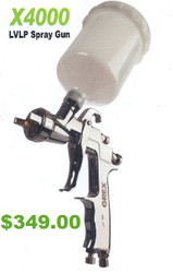 GREX - Spray Gun - X4000 ~ LVLP Top Gravity - 1.4mm