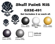 GREX - PRIVATE STOCK #GXSE-491 / 2 oz, Skull Paint Set Colors Kit