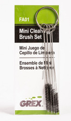 GREX - Airbrush / Cleaning Brush Set (Mini) ~ FAO1
