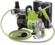 """GREX - Airbrush / Combo Kit ~  XT Airbrush  (SEE VIDEO ABOUT XT AIRBRUSH UNDER """"DETAILED DESCRIPTION)"""
