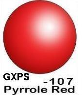 GREX - PRIVATE STOCK # 107 / 2 oz  Pyrrole Red