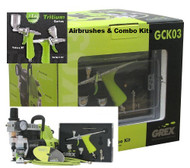 "GREX - Airbrush /  Combo Kit ~ Tritium TG3 Airbrush (SEE VIDEO ABOUT TRITIUM UNDER ""Video"""