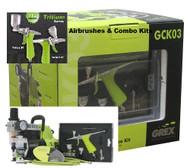 "GREX - Airbrush /  Combo Kit ~ Tritium TG3 Airbrush (SEE VIDEO ABOUT TRITIUM UNDER ""Video"""