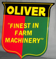 Oliver Finest in Farm Machinery Embossed