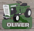 Oliver 105, 125, 145 Garden Tractor Sign