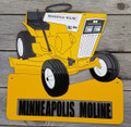 Minneapolis Moline 110 Garden Tractor Sign
