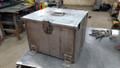 Double Covered Battery Box - Unpainted