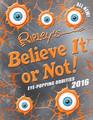 Ripley's Believe It Or Not! 2016 (Hardcover)