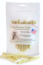 Chicken Flavored Rawhide Chews for Small Dogs