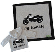 big trouble cashmere blanket